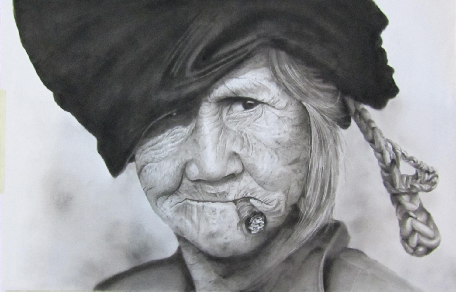 Drawing old people